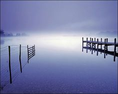 4.30am in mid-summer at Coniston Water, Lake District, Cumbria, England (Commended - Your view) - Ian Cameron.