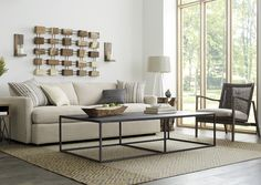 There's a reason it's called Lounge. This extra-long sofa, part of our ultimate family room collection, features super-deep, low seats and super-soft back cushions that invite family to pile on and sink in.