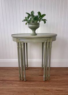 Nesting Tables Shabby Chic Nested Tables French Country