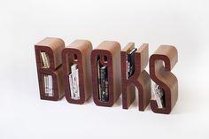 The Books Shelf - bardzo wymowny regał
