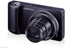 Samsung Galaxy Camera 16.3 MP Digital Camera - Cobalt Black