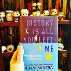 "Book mail!! History Is All You Left Me by the amazing @adamsilvera!!! Be sure to add this to your TBR list  . Here's a little about the book: When ""Griffins first love and ex-boyfriend Theo dies in a drowning accident his universe implodes. Even though Theo had moved to California for college and started seeing Jackson Griffin never doubted Theo would come back to him when the time was right. But now the future hes been imagining for himself has gone far off course.  To make things worse the…"
