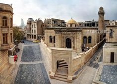 Cume Mosque  old city Baku by Etibar Jafarov on 500px