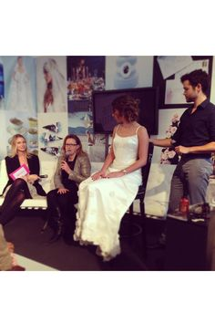 On the sofa with Michael Van Clarke - Brides The Show 2013