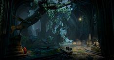 Dragon Age Inquisition Cathedral, Shawn Kassian on ArtStation at https://www.artstation.com/artwork/4XLOL