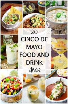 Cinco de mayo party ideas on pinterest cinco de mayo for Party food and drink ideas
