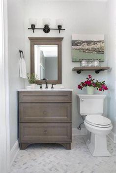 Inspiring Small Farmhouse Bathroom Design Ideas