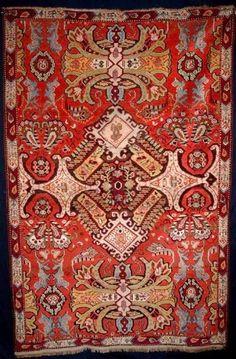 Caucasion Karabagh rug, Western design, late 19th century