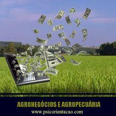 AGRONEGÓCIOS E AGROPECUÁRIA – Gerenciamento de propriedade rural.    Atuação: Administração rural, consultoria, cultivo e produção, desenvolvimento de produtos, planejamento de produção, vendas