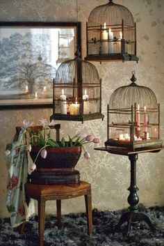 Why did I pass on that yard sale bird cage??? Cuz my to-do list keeps growing!