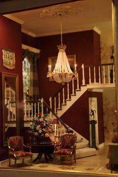A Grand Entrance / Author: Ray Whiltedge & Terry Noack / Scale: 1:12 / Photo: Scarlett Tu (S Tu)