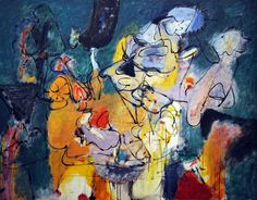 Arshile Gorky - Virginia Landscape, oil on canvas Type: MOdern Art Oranjestad, Willemstad, Modern Art, Contemporary Art, Cincinnati Art, Willem De Kooning, African Art, New Art, Art History