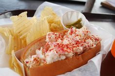 Barnacle Billy's (incredible) lobster roll