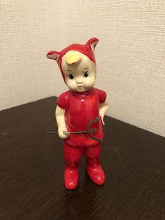 vintage Halloween little devil