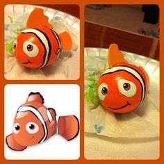 its an egg Nemo! Plastic Easter Eggs, Easter Egg Dye, Easter Egg Crafts, Coloring Easter Eggs, Easter Egg Competition Ideas, Nemo, Easter Egg Designs, Diy Ostern, Easter Activities