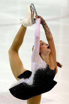 Gracie Gold - U.S. International Figure Skating Classic 2013 Black Figure Skating / Ice Skating dress inspiration for Sk8 Gr8 Designs
