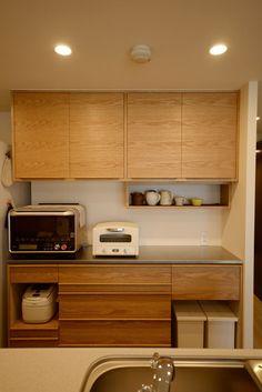 つたえる楽しさむずかしさ | 注文家具屋 フリーハンドイマイ Interior Garden, Kitchen Interior, Kitchen Decor, Kitchen Design, Kitchen Cabinet Dimensions, Dining Cabinet, Japanese Home Decor, Japanese Kitchen, Tv Unit Furniture