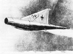 Nazi Germany: Lippisch Mach range & fueled by coal Ww2 Aircraft, Aircraft Carrier, Luftwaffe, Invention And Innovation, Delta Wing, Horse Drawn Wagon, Wind Tunnel, American Air, Beginning Running