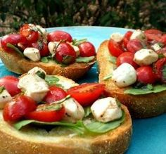 Cherry Tomato Bruschetta  3 tablespoons extra virgin olive oil, plus extra for sprinkling 1 teaspoon balsamic vinegar salt & freshly ground black pepper 12 bocconcini, halved or 13 ounces mozzarella cheese, cubed 20 ripe cherry tomatoes, halved 1/4 cup torn fresh basil leaf, plus extra for serving 4 slices thick country bread, preferably sourdough 2 cloves garlic, peeled and halved 1 cup arugula leaf  Directions:  1 Whisk together three tablespoons of the olive oil and the balsamic vinegar…