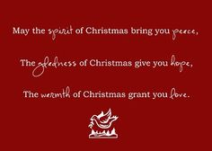 Christmas Wishes! I Like This Was The Saying On My Parents Christmas Card 2  Years Ago!