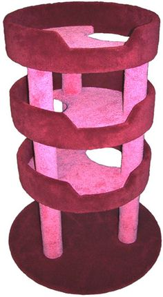 Layered Cat Tree - CatsPlay.com - Fun furniture, condos and climbing gyms for cats and kittens.