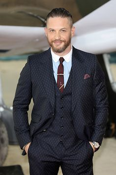 Tom Hardy at the 'Dunkirk' World Premiere at Odeon Leicester Square on July 13, 2017 in London, England