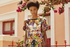 #MODA | Muita estampa na coleção da Adidas Originals com a FARM