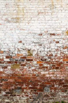 Distressed brick wall stock photo 24892971 - iStock