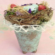 add-decorative-lace-ribbon-to-bird-nest.jpg (600×600)