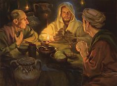 """Did not our hearts burn within us?"" by Michael Malm (Luke 24:32)"