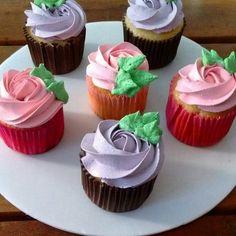 Cupcakes por @bolode_colher