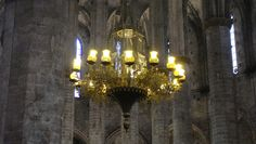 Santa María del Mar, El Born, Barcelona, Elisa N, Blog de Viajes, Lifestyle, Travel Barcelona, Chandelier, Ceiling Lights, Blog, Decor, Santa Maria, Cities, Viajes, Fotografia