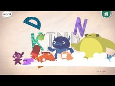 Endless Alphabet Demo Learning for kids A to Z, Fun English Words Learning - YouTube