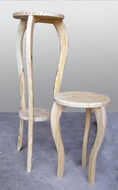 Handmade Desks, Wood Joinery, Diy Chair, Wooden Furniture, Plant Decor, Tables, Home Decor, Wooden Key Holder, Diy Furniture