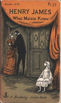 Edward Gorey illustration for Henry James' What Maisie Knew.
