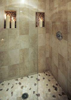 Scipione Bathroom - Westwood, CA Corner Decorating, Decorating Ideas, Corner Bathtub, Master Bathroom, Interior Design, Bathroom Ideas, Bathrooms, Home, Nest Design