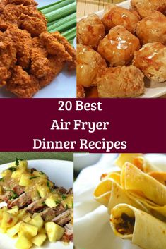 Make dinner a breeze with these Air Fryer Recipe. Expect Airfryer cooking to be simple and not as difficult as the way you cook now, so it is a nice cooking experience. Because the Air fryer uses air instead of lots of oil it cooks things really fast. Air Fryer Recipes Breakfast, Air Fryer Oven Recipes, Air Frier Recipes, Air Fryer Dinner Recipes, Air Fried Food, Cooking Recipes, Healthy Recipes, Cooking Tips, Cooking Classes