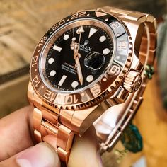 Explore the Rolex number of respectable, high-precision watches, look for the best mixing of style and overall performance. Rolex Watches For Men, Seiko Watches, Luxury Watches For Men, Rolex Gmt Master, Stylish Watches, Cool Watches, Apple Watch Fashion, Expensive Watches, Rolex Datejust