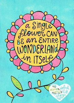 Wonderland (5x7 doodle print). $ 8.00, via Artsyville