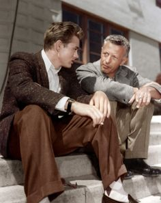James Dean & Ray Making 'Rebel Without a Cause' (1955)
