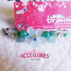 BRAND NEW FROM SOUTH KOREA  Green Stones Flower (HKO-4X090)  Quantity:- 1  Sale 4 U $12 - only payment through Bank Transfer (With FREE SingPost AM Mail within Singapore). You can buy it at our website! More info at http://theaccessories.co/product/hko-4x090  #women #hair clips #korea #new #hand-made #girl #ladies #sweet #elegant #rhodium silver #precious stones #flower #green #jade #simple