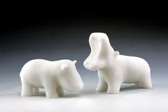 3D printed Hippos - gotta find the pattern