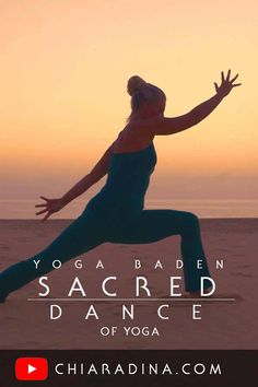 As your practice grows inward, movement becomes meditation. Flow in your own, intimate rhythm of conscious awareness to breath and posture in heartfelt dedication to your inner communion during your yoga practice. #sacred #chiaradina #yogainnature #yogavideo