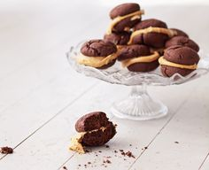 Cookie of the Day: Whoopie Pies with Salted Dulce de Leche