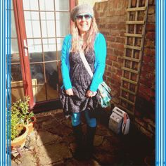 The Little Black Dress Challenge: Day 18 | Grandma Smurf