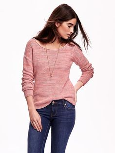 Roll-Neck Textured-Knit Sweaters Product Image