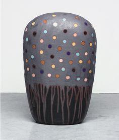Jun Kaneko Untitled Dango 04-07-07 #ceramics