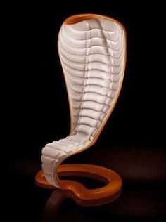 Snake chair - 10 Unique Furniture Design Ideas Inspired by Nature - Modern Furniture Weird Furniture, Deco Furniture, Classic Furniture, Unique Furniture, Shabby Chic Furniture, Luxury Furniture, Furniture Makeover, Furniture Design, Furniture Ideas