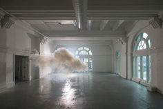 Fantastical Clouds Magically Suspended in Empty Rooms - My Modern Metropolis