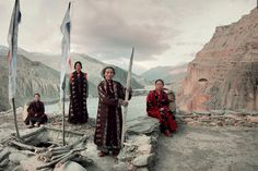 Mustang tribe - Nepal / former kingdom of Lo From the series: Before they pass away by Jimmy Nelson Tribes Of The World, We Are The World, People Around The World, Around The Worlds, Epic Photos, 6 Photos, Rare Photos, Pictures, Mustang Nepal